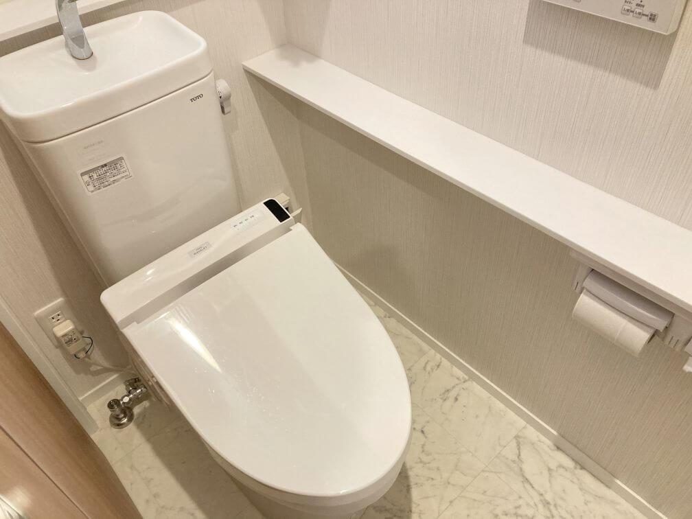 1階の標準トイレ