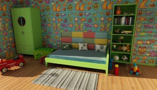 【間取り】子供部屋は4畳半で十分だ!用途から考える部屋の広さとレイアウト