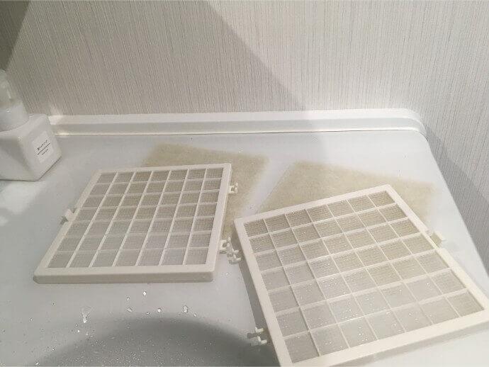 フィルター水洗い