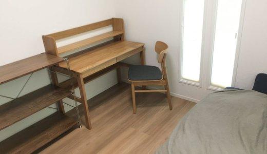 無印良品の家具で揃えた小学生・5畳の子ども部屋|予算10万円台でつくる