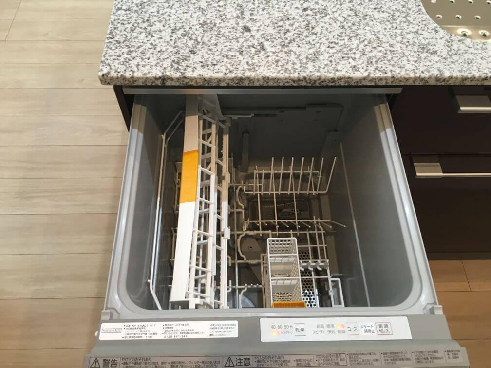 食器洗い乾燥機変更(深型タイプ・バイオパワー除菌)