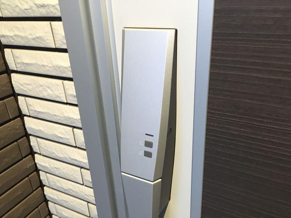 玄関ドア電気リモコンキー(UBアーチハンドル)