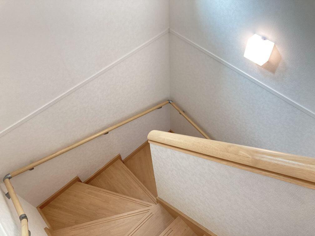 コの字形ボックス階段